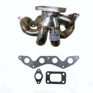 OBX SUS Turbo Header Manifold 01 04 Honda Civic D17 DX LX