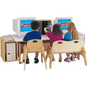 Jonti Craft KYDZ Multi User Computer Table/ Workstation