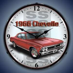 and Clock GMRE805187 14 1966 SS Chevelle Lighted Clock Automotive