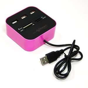 Speed USB 2.0 All in One Flash Media Memory Card Reader / Writer Plus
