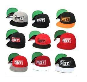 Snapback Hat/Cap Blue Obey Snap Back Hat Adult Cap No47414