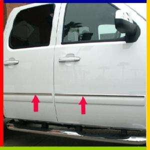 09 2011 Chevy Silverado Crew Cab Body Side Molding Trim