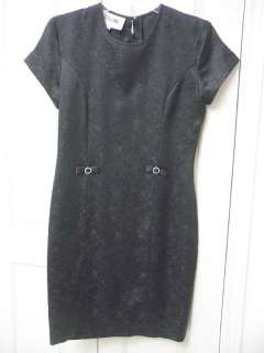 CELINE BLACK SIZE MEDIUM GORGEOUS BLACK DRESS