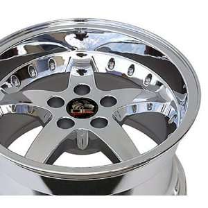 Cobra R Deep Dish Style Wheel with Rivets Fits Mustang (R