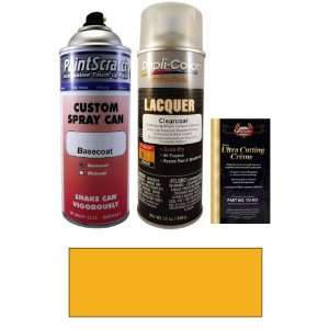 12.5 Oz. Dark Yellow (Canadian color) Spray Can Paint Kit for 2003 GMC