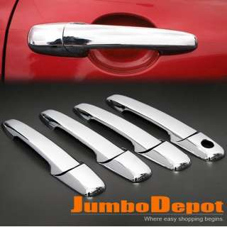 brand new mazda triple chrome door handle cover kit