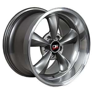 DEEP DISH FORD MUSTANG 17 INCH BULLITT WHEELS RIMS Automotive
