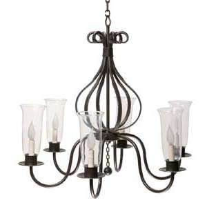 Stone County 902 703 IVO Williamsburg Carriage Natural Black 6 Light
