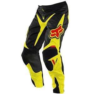 Fox Racing Platinum Pants   2010   36/Black/Yellow