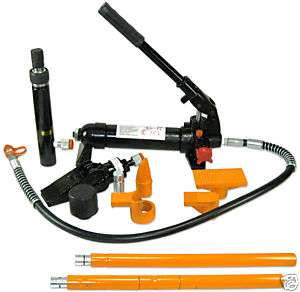 TON HYDRAULIC PORTAPOWER SET AUTO BODY TOOL KIT JACK