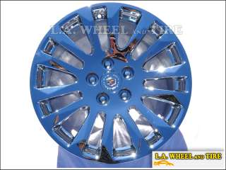 Cadillac CTS 18 OEM Chrome wheels rims set EXCHANGE