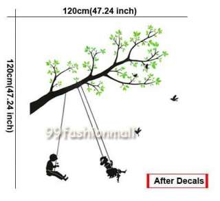 new fashion design and high quality material pvc theme green tree