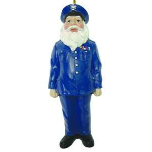 Air Force Santa Christmas Ornament