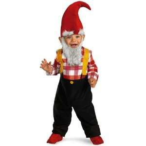 Garden Gnome Halloween Costume For Toddler Boys Size 2T 3T