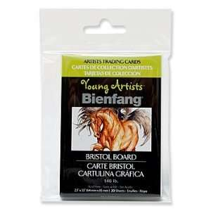 Bienfang Young Artists Trading Cards watercolor pack of 10