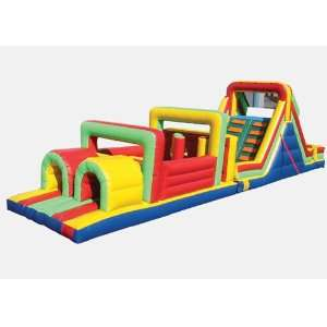 Kidwise Obstacle Course Bounce House (Commercial Grade) Toys & Games