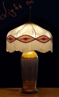 1910 Stylish Art Deco Porcelain Lamp Bing & Grondahl