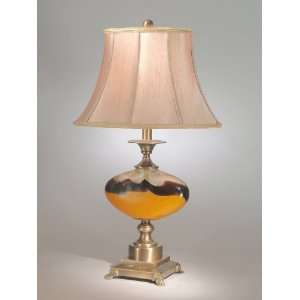 Dale Tiffany PG50143 Antique Brass Sonora Table Lamp