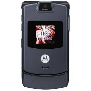 Motorola RAZR V3 Unlocked Phone with Camera, and Video Player