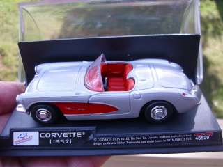 1957 Chevy Corvette diecast Model car by New Ray 0 93577 48529 5