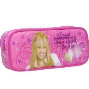 Pop Star Hannah Montana Pink Pencil Case Toys & Games