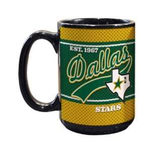 Dallas Stars 15oz. Jersey Mug