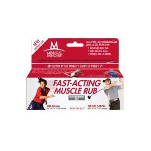 Skincare Fast Acting Muscle Rub Pain Relieving Gel, 3 Ounce Box