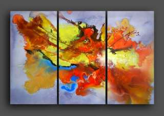 OIL PAINTINGS HUGE CONTEMPORARY DECOR MODERN ABSTRACT ART GALLERY K134