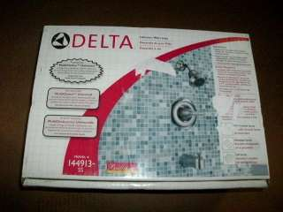 DELTA SINGLE HANDLE TUB AND SHOWER FAUCET 144913 SS