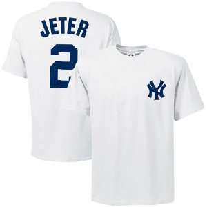Majestic Name and Number New York Yankees T Shirt