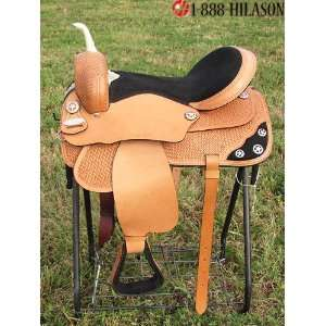 Treeless Barrel Racing/ Trail Western Horse Saddle  Sports