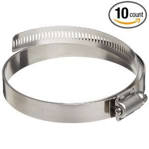 Dixon Valve HSS Series Stainless Steel 300 Worm Gear Hose Clamp, 10 7