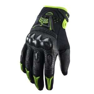 Fox Racing Black/Green Gloves
