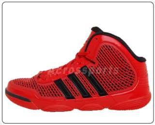 Adidas Adipure Red Black WEST New Mens Basketball Shoes