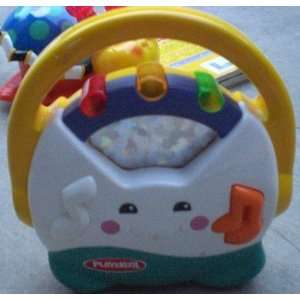 Kids Pretend Play Musical Cd Player Toy, Does Not Play Real Cds Toys