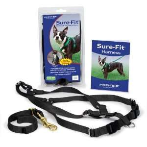 PREMIER SURE FIT DOG HARNESS W/CAR CONTROL STRAP NEW 759023082448
