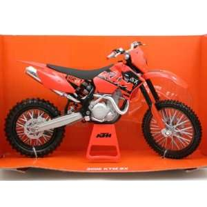 2006 KTM SX diecast dirt bike motorcycle 112 Toys