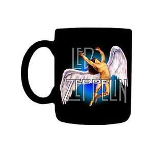 Led Zeppelin   12 oz Ceramic Swan Coffee Mug