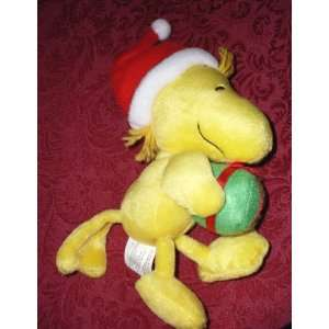 Hallmark Peanuts Snoopy 8 Plush Woodstock Carrying Gift