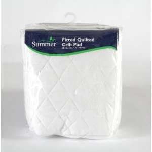 Summer Infant Bedding Basics Fitted Quilted Crib Pad Baby