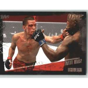 2010 Topps UFC Trading Card # 51 Nate Diaz (Ultimate Fighting