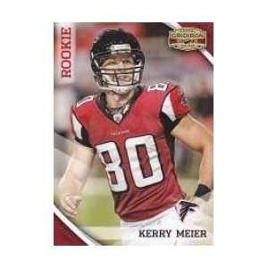 2010 Panini Gridiron Gear #213 Kerry Meier RC   Atlanta