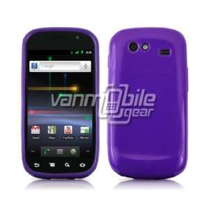 VMG Sprint Samsung Nexus S Skin Case   Purple Premium 1