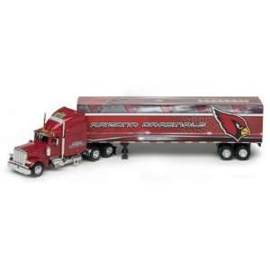 ARIZONA CARDINALS 2007 NFL Peterbilt Tractor Trailer Truck 1/80 Scale