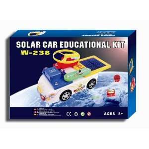 Solar Car Educational Kit   238 Circuit Combinations