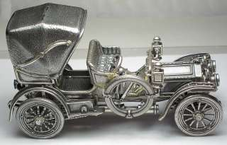 Mercedes Simplex Franklin Mint Sterling Silver Car Miniature