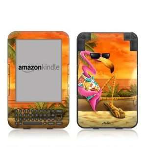 Sunset Flamingo Design Protective Decal Skin Sticker for