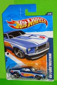 2011 HOT WHEELS RACING 11   69 FORD MUSTANG