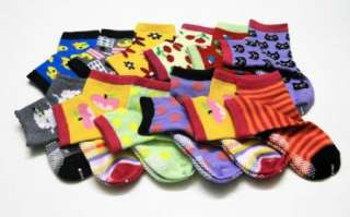 PAIRS Baby Cute Socks F Newborn Infant Toddler Boy / Girl