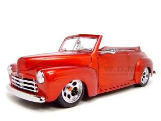 scale diecast 1948 ford custom by road signature brand new box rubber